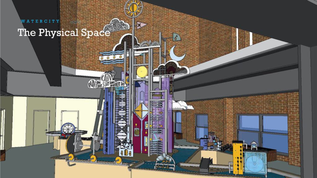Chicago Children's Museum Launches Construction Of Its Newest Exhibit, Moen Presents Water City